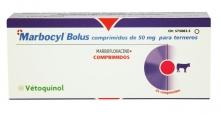 Marbocyl Bolus. Marbofloxacino oral para terneros recién nacidos