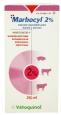 Marbocyl 2% Vetoquinol. Marbofloxacino inyectable en dosis múltiple